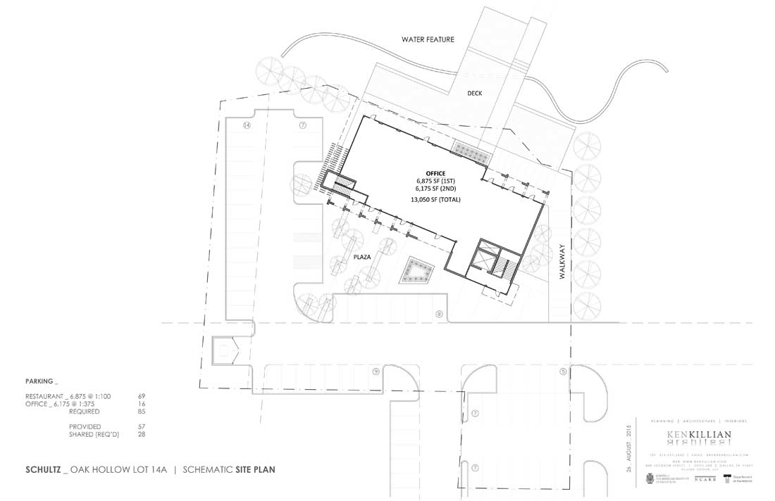 Oak Hollow - SITE PLAN