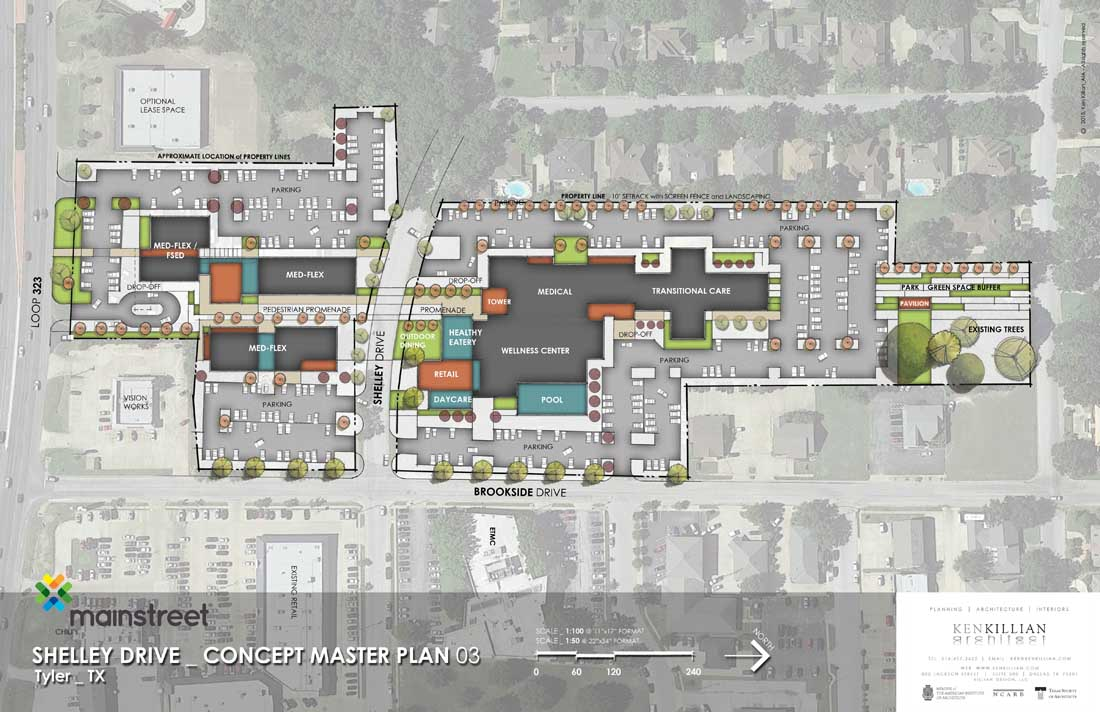 TYLER WELLNESS - Concept Site Plan