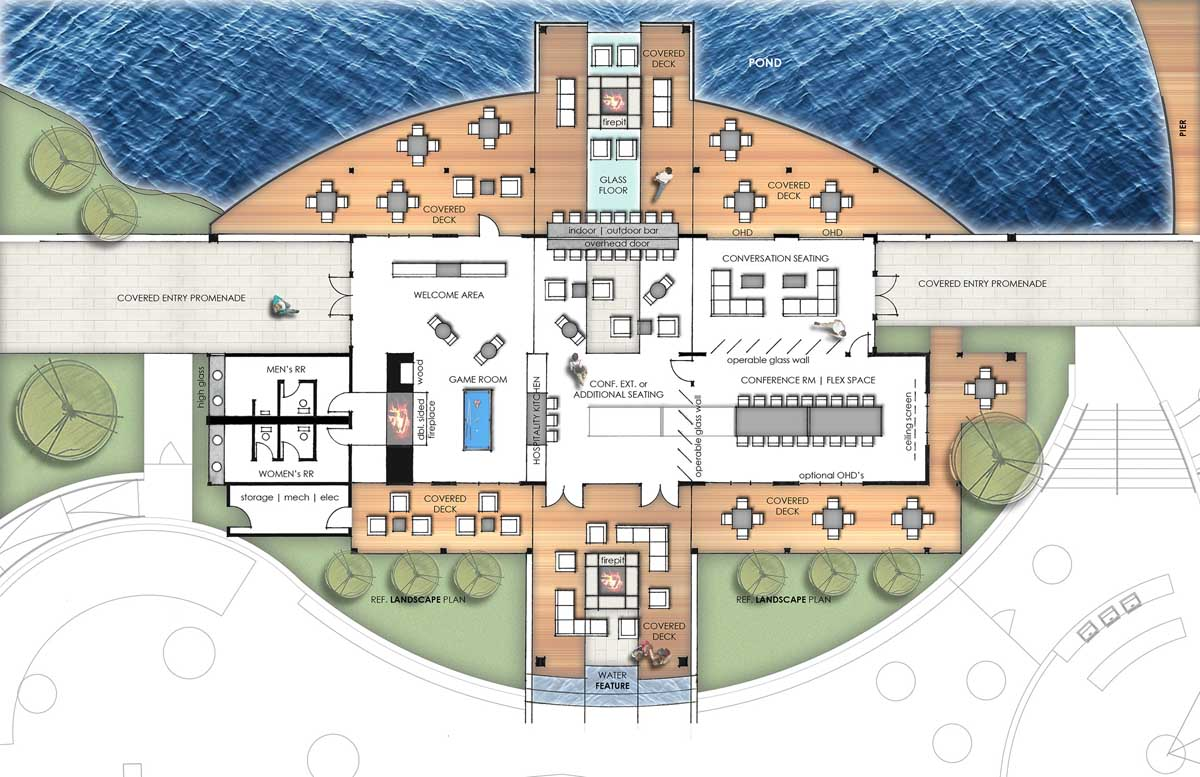 02 RESORT AMENTY CENTER - FLOOR PLAN