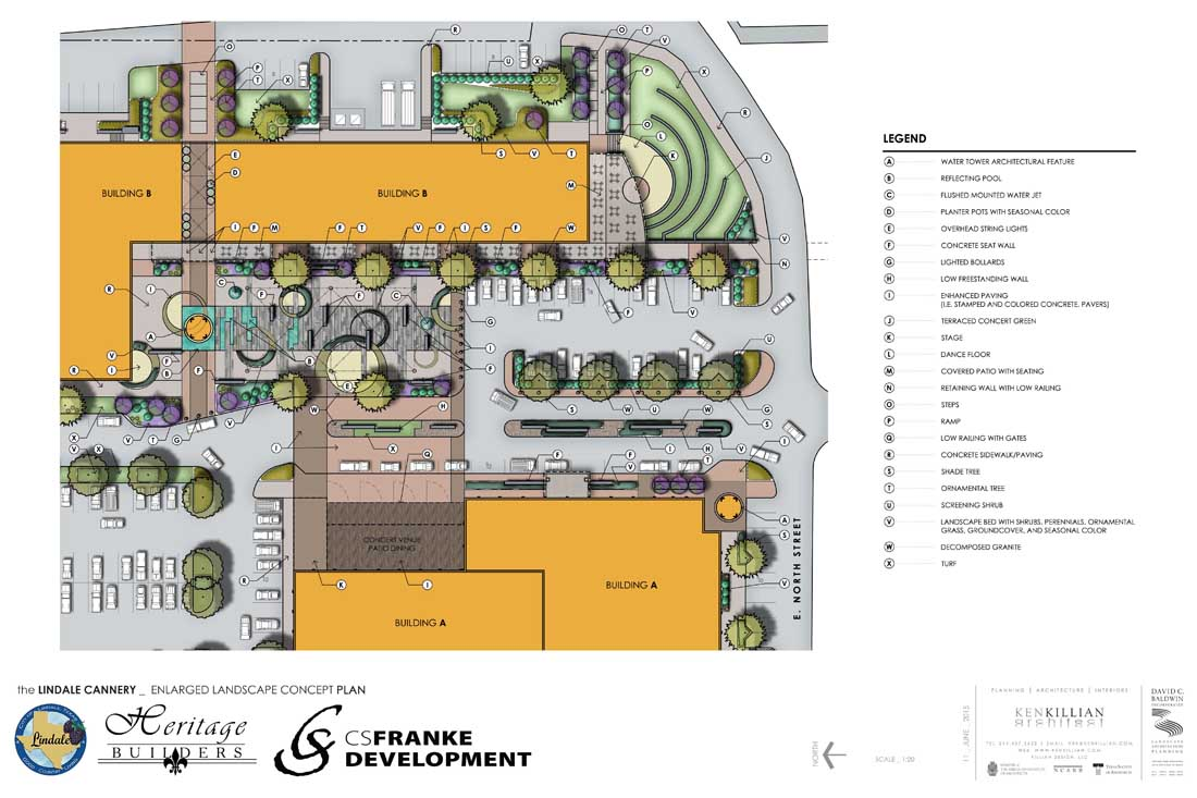 LINDALE CANNERY - Plaza Enlargement