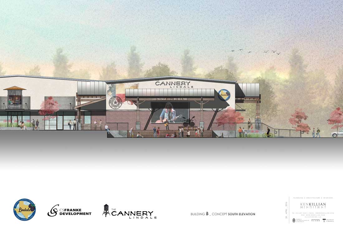 LINDALE CANNERY - Stage Rendering