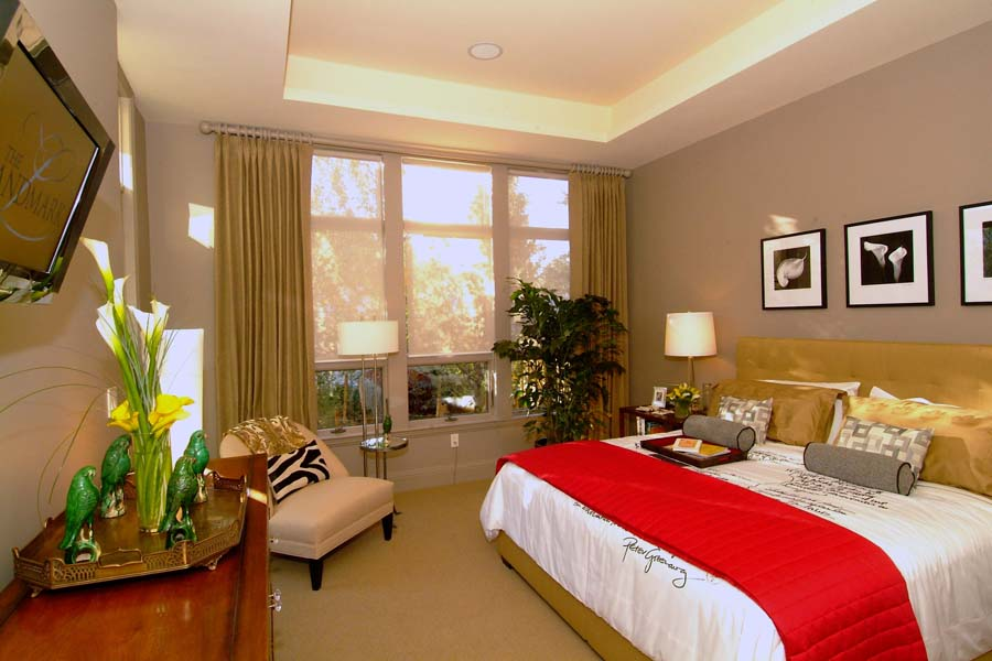 The Landmark Condo _ Bedroom