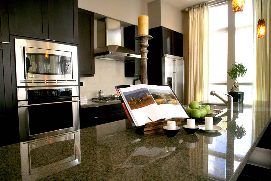 The Landmark Condo _ Kitchen
