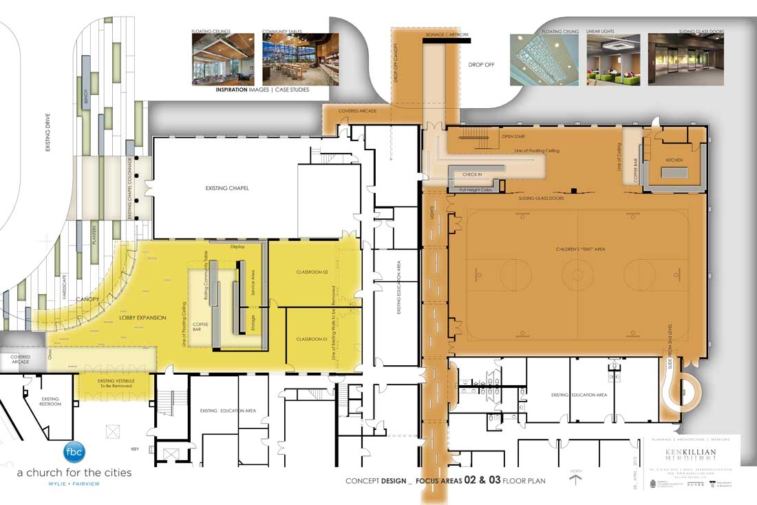 FBC WYLIE - FOCUS AREA 2 & 3 Floor Plan
