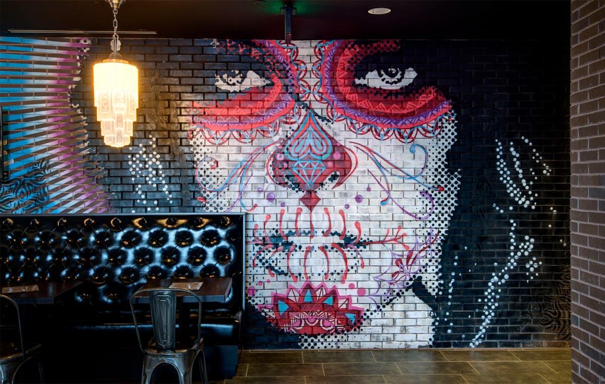 Alamo Drafthouse _ Art Wall