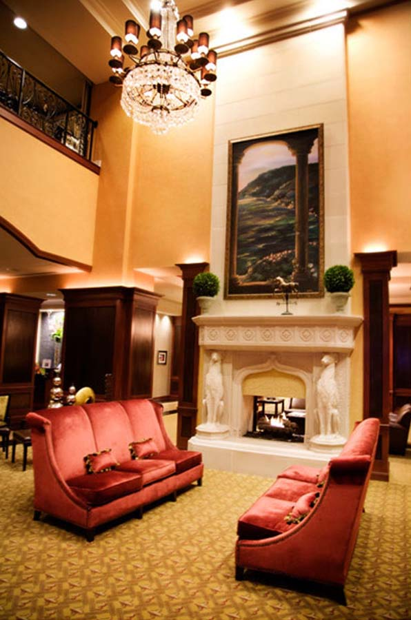Rockwall Harbor _ Hilton Lobby