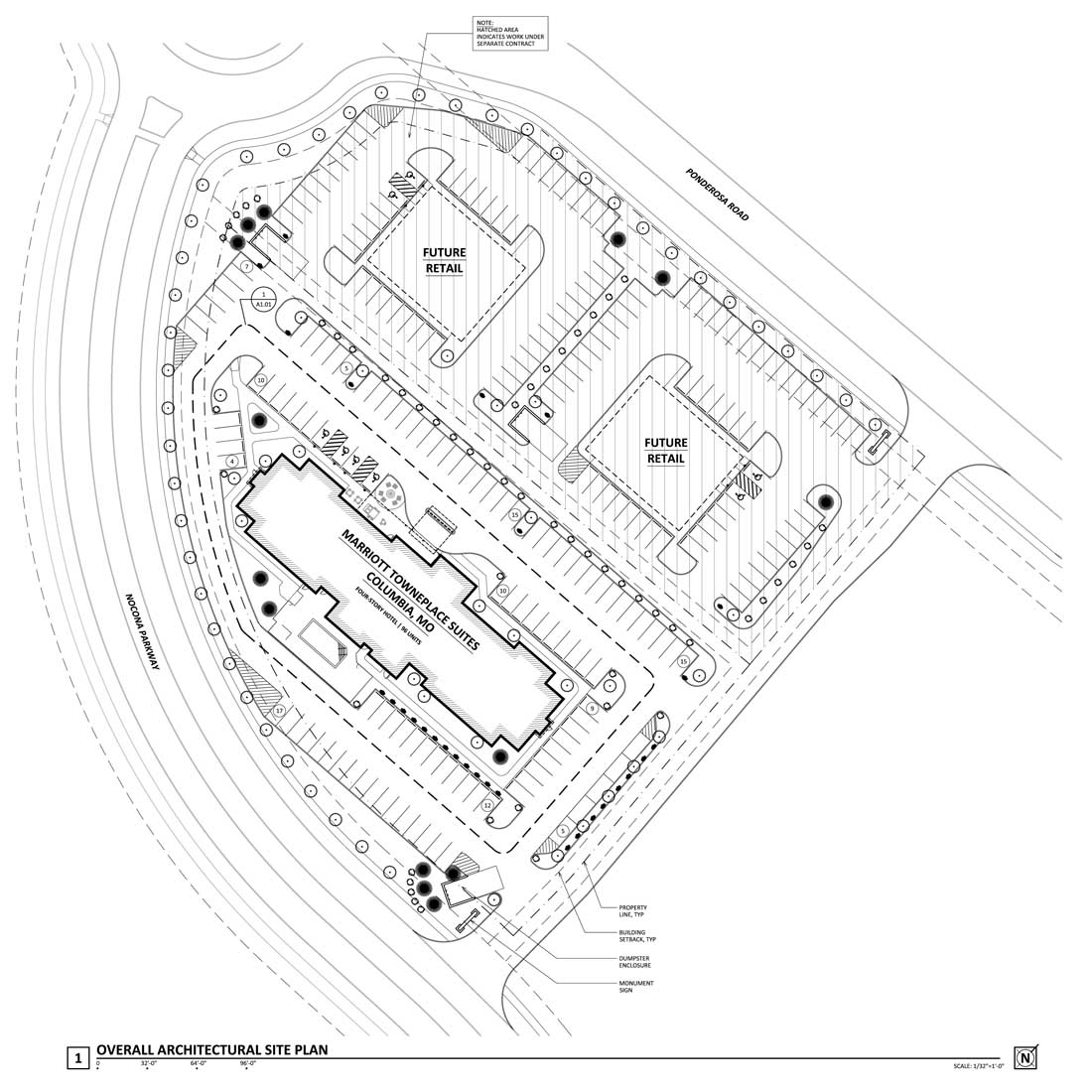 COLUMBIA MO -Site Plan