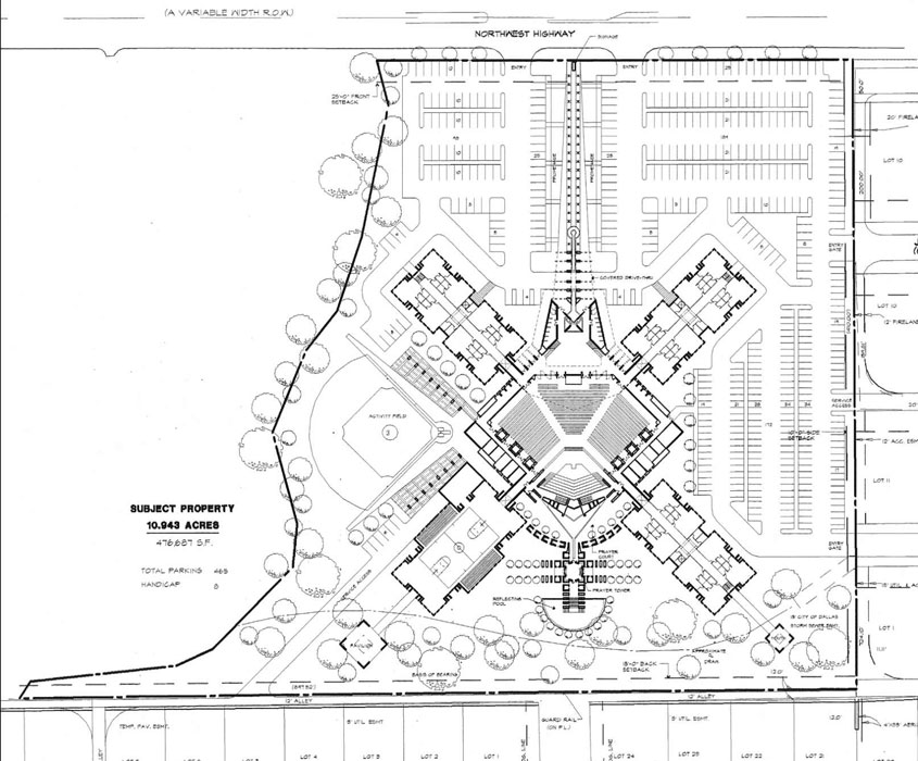 DFA-Master Site Plan
