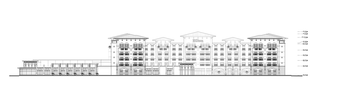 HARBOR _ Hilton Elevation
