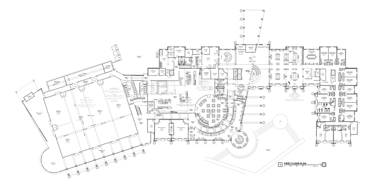 HARBOR _ Hilton Ground Level Floor Plan