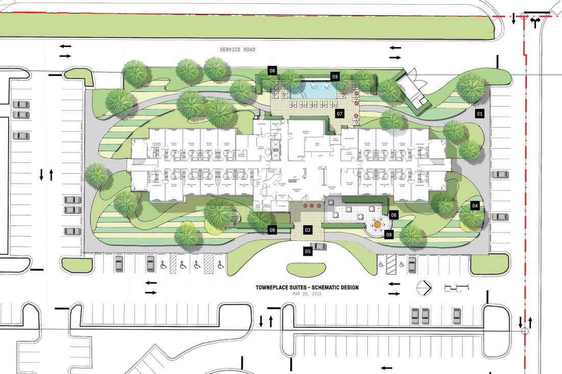 LAKE CHARLES LA -Site Plan
