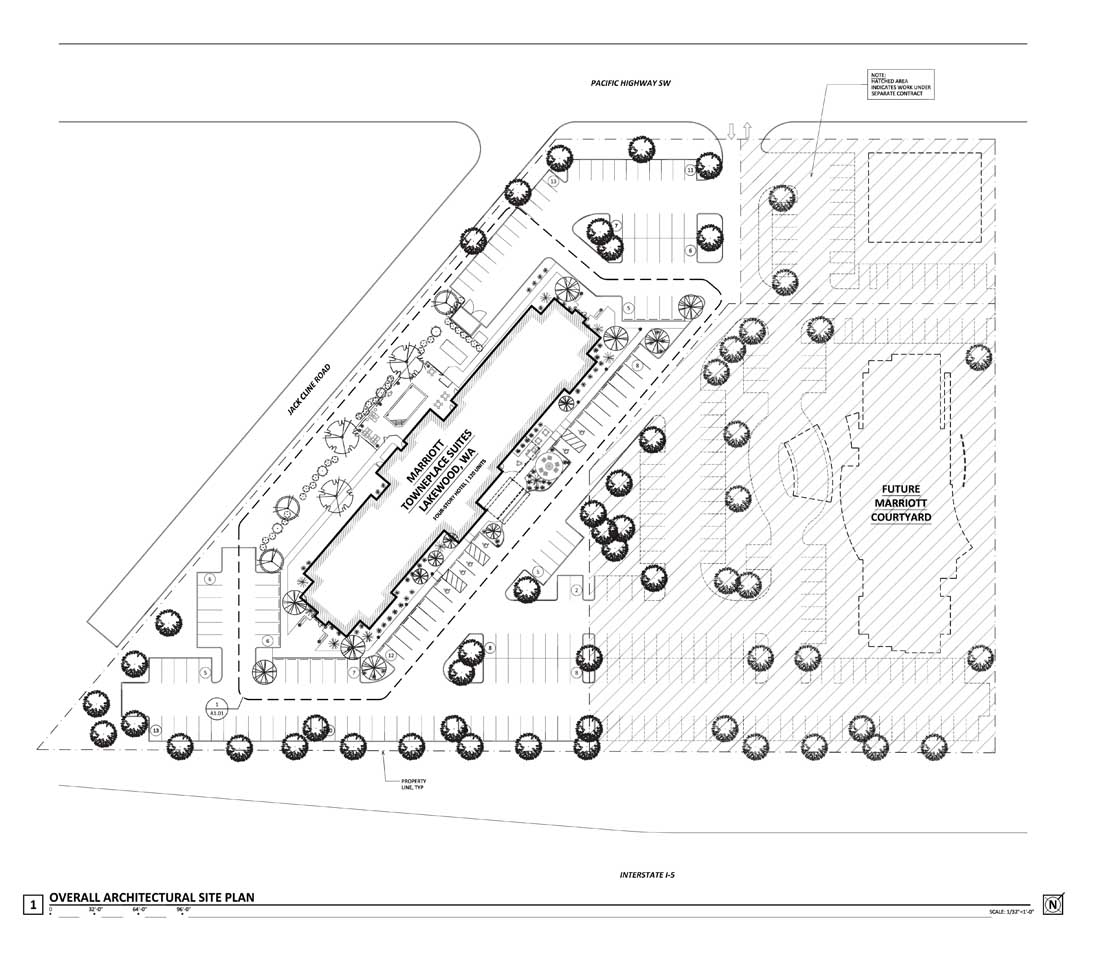 LAKEWOOD WA -Site Plan