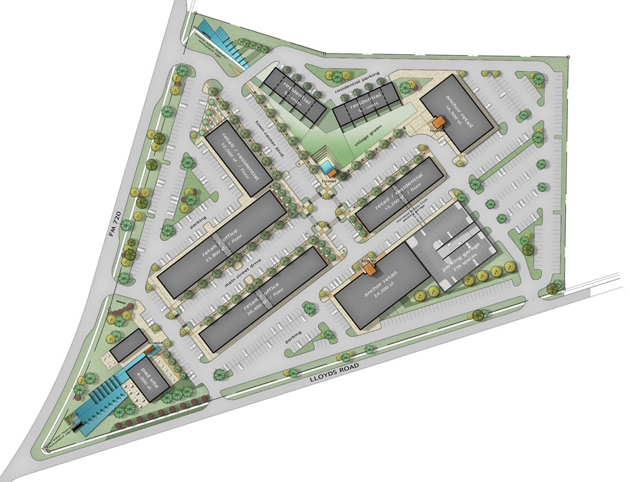 Liittle Elm Town Center _ Site Plan