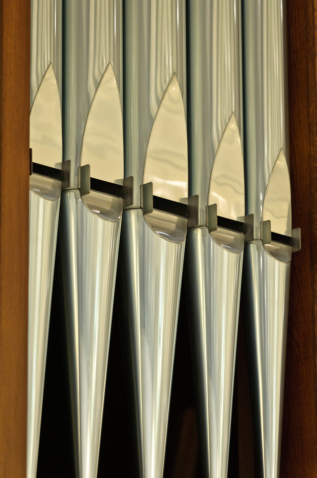 Messiah Organ Detail